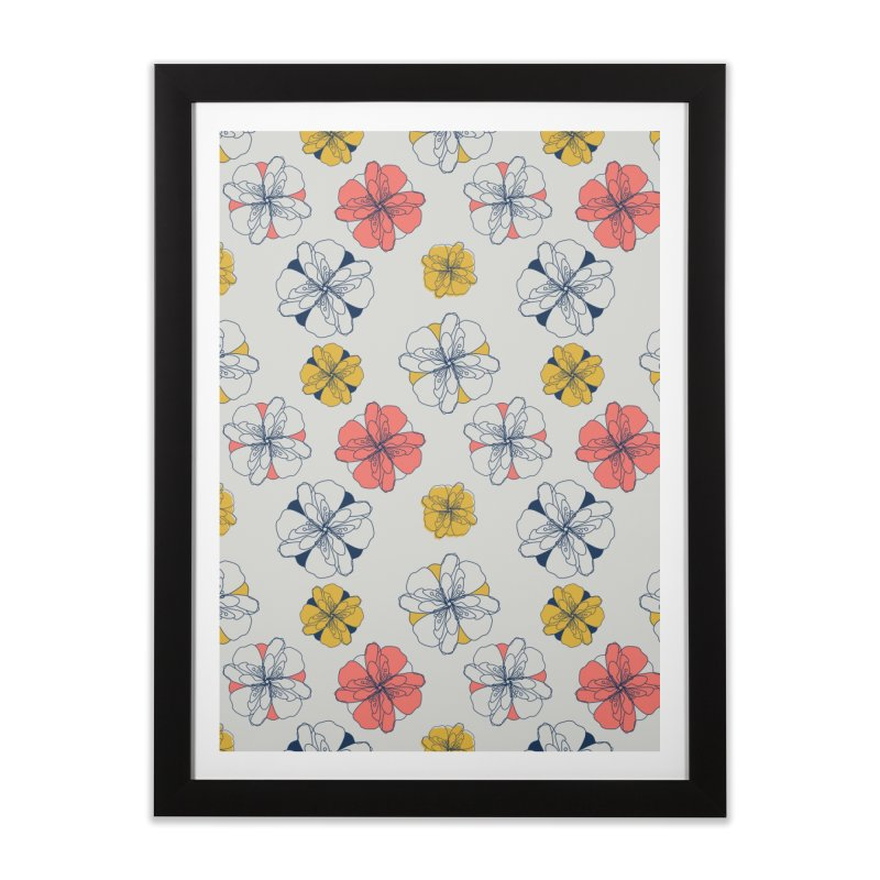 Springtime Floral Home Framed Fine Art Print by Svaeth's Artist Shop