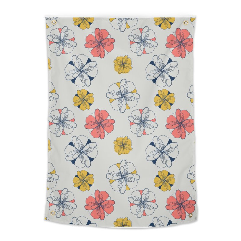 Springtime Floral Home Tapestry by Svaeth's Artist Shop