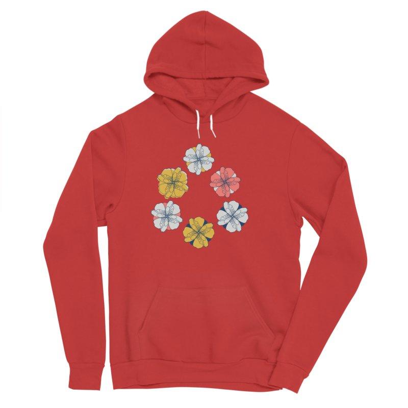 Springtime Floral Men's Pullover Hoody by Svaeth's Artist Shop