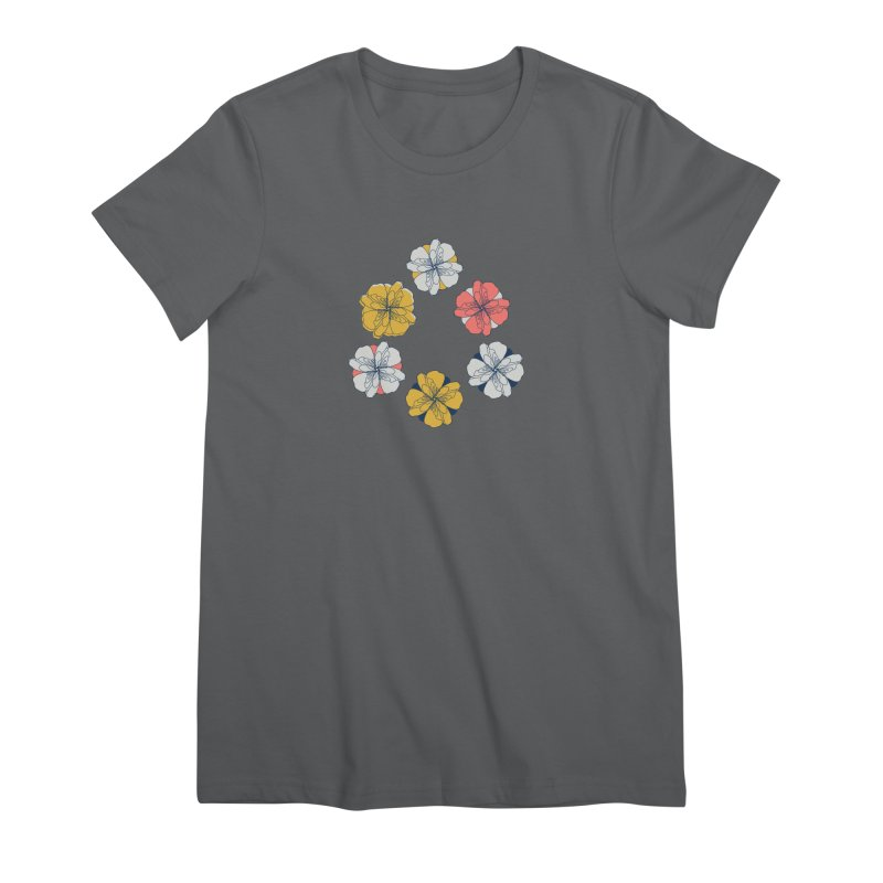 Springtime Floral Women's T-Shirt by Svaeth's Artist Shop