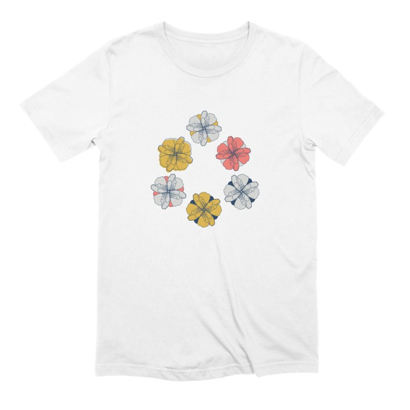 Springtime Floral Men's Extra Soft T-Shirt by Svaeth's Artist Shop