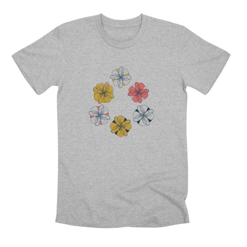 Springtime Floral Men's Premium T-Shirt by Svaeth's Artist Shop
