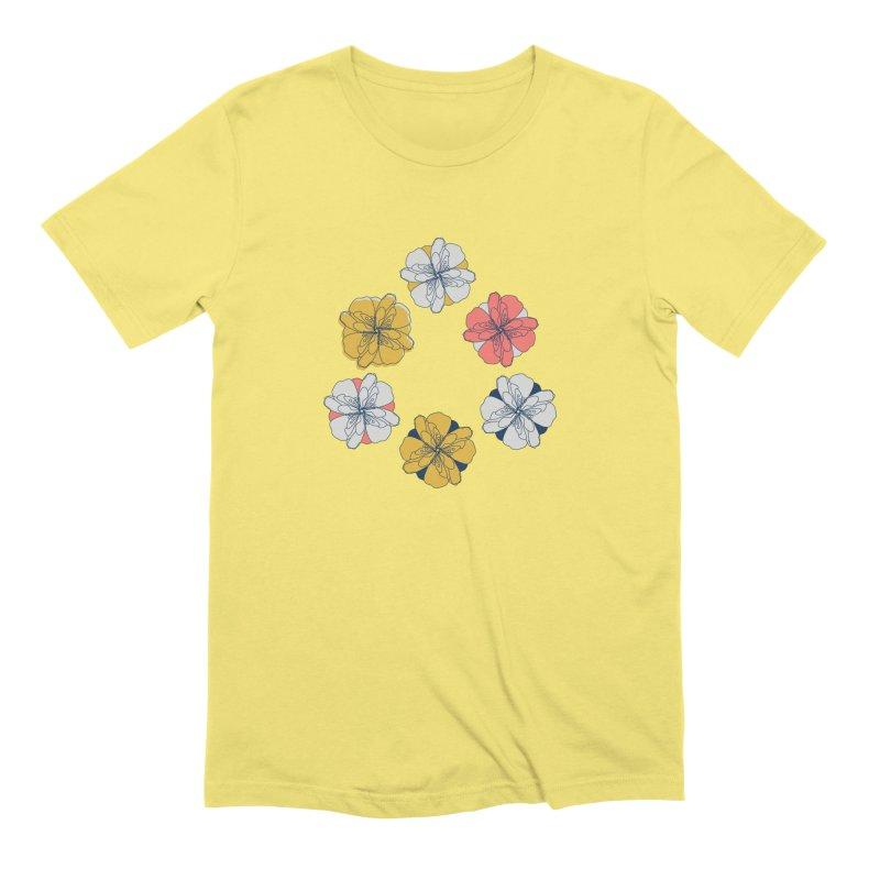 Springtime Floral Men's T-Shirt by Svaeth's Artist Shop