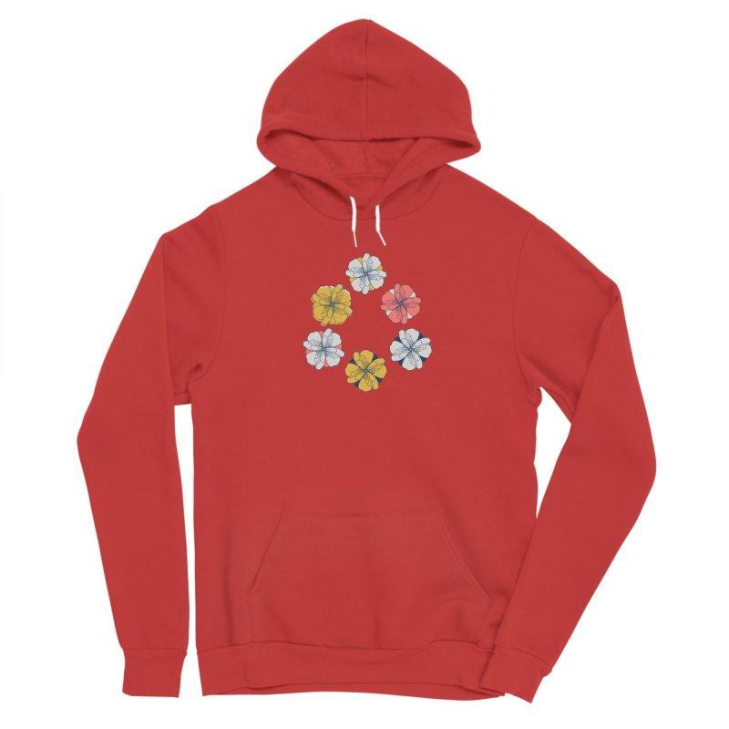 Springtime Floral Women's Sponge Fleece Pullover Hoody by Svaeth's Artist Shop