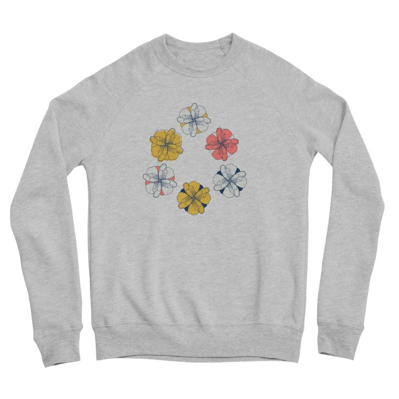 Springtime Floral Women's Sponge Fleece Sweatshirt by Svaeth's Artist Shop