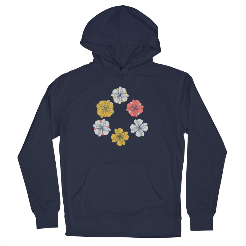 Springtime Floral Men's Pullover Hoody by Svaeth's Artist Shop