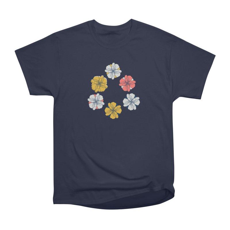 Springtime Floral Men's Heavyweight T-Shirt by Svaeth's Artist Shop