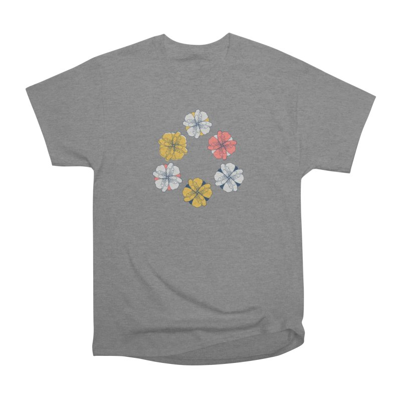Springtime Floral Men's Heavyweight T-Shirt by Svaeth's Artist Shop