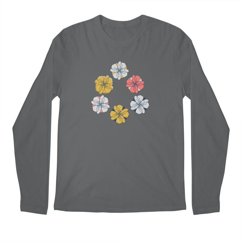 Springtime Floral Men's Regular Longsleeve T-Shirt by Svaeth's Artist Shop