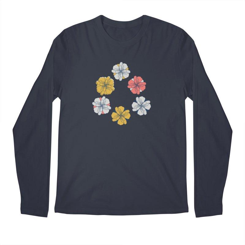 Springtime Floral Men's Regular Longsleeve T-Shirt by Svaeth's Artist Shop