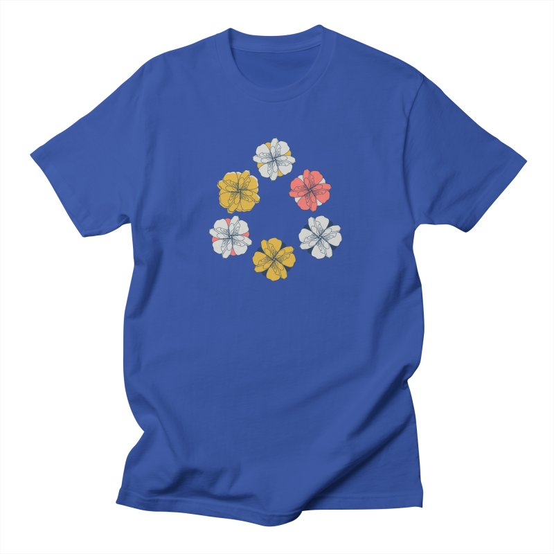 Springtime Floral Men's T-Shirt by Svaeth's Artist Shop