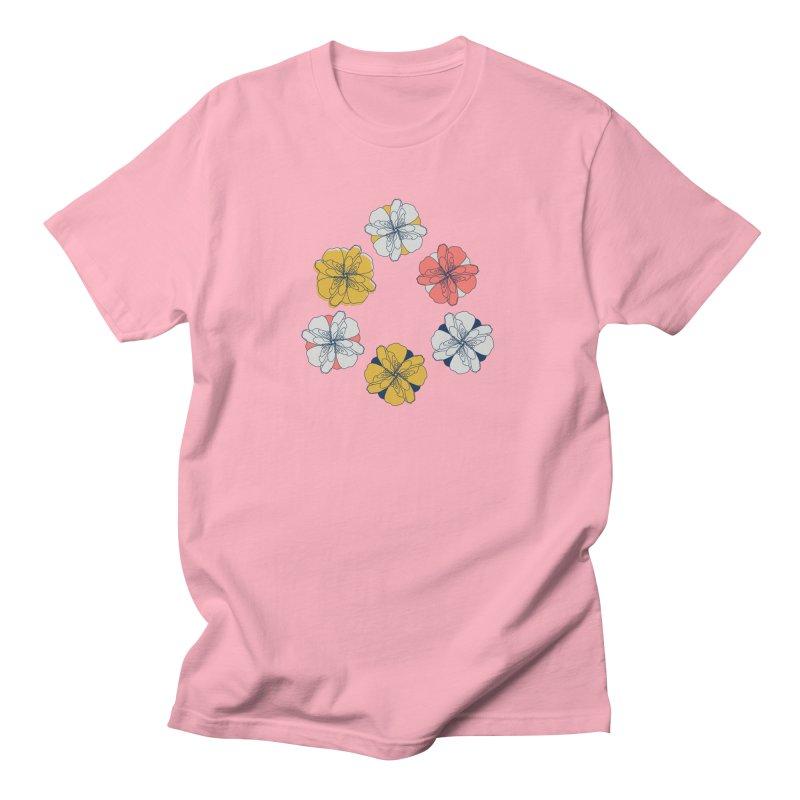 Springtime Floral Men's Regular T-Shirt by Svaeth's Artist Shop