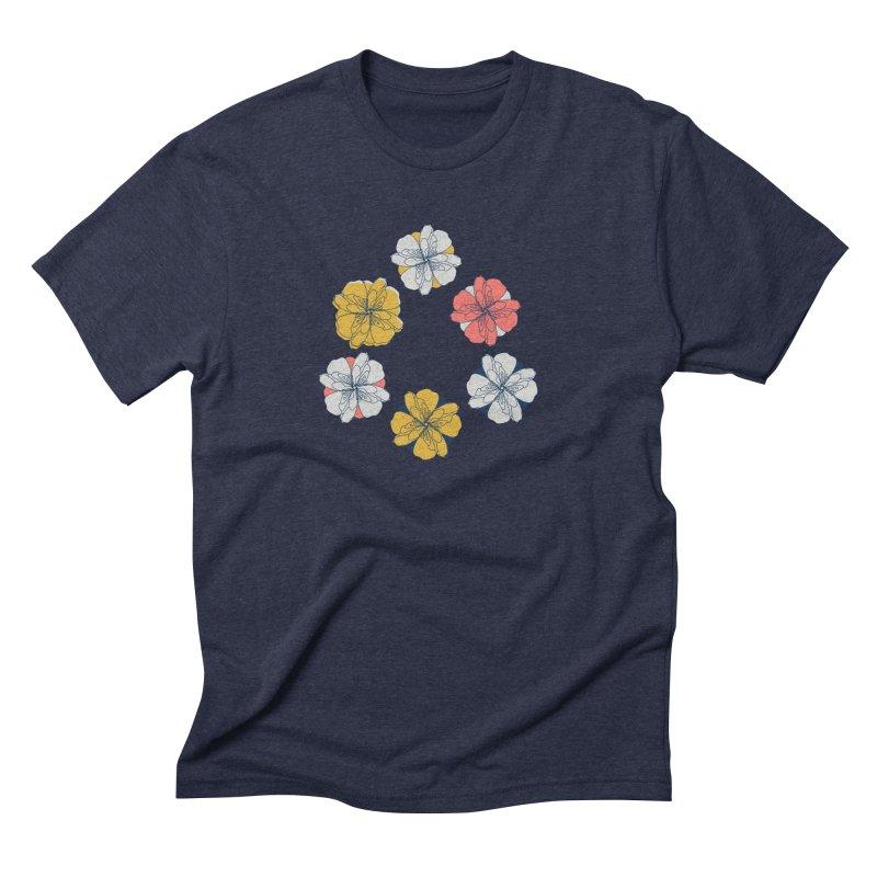 Springtime Floral Men's Triblend T-Shirt by Svaeth's Artist Shop