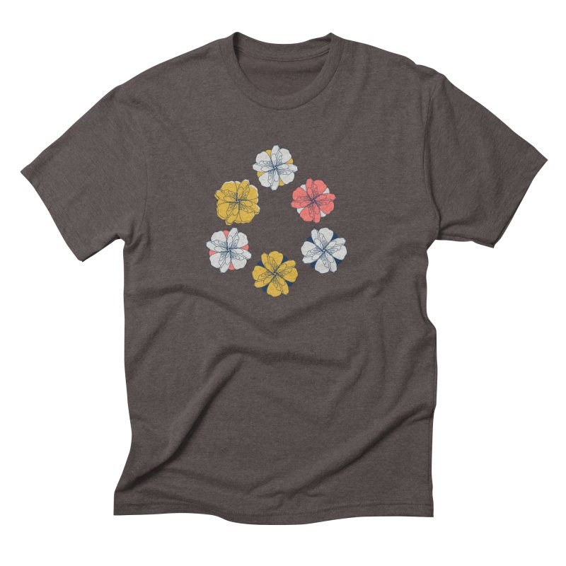 Springtime Floral Men's Triblend T-Shirt by Svaeth's Artist Shop