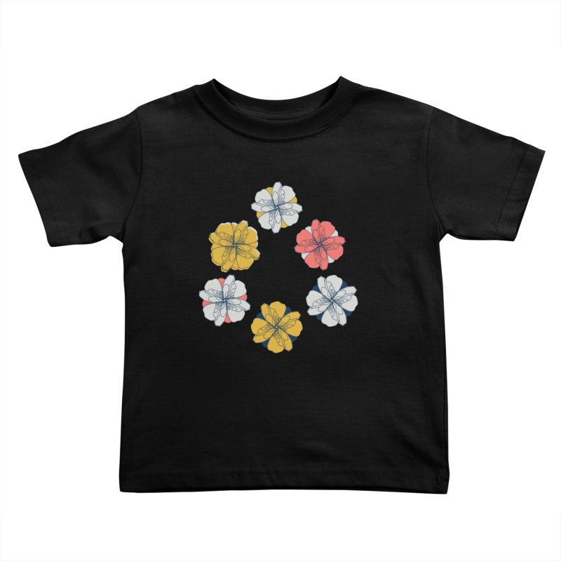 Springtime Floral Kids Toddler T-Shirt by Svaeth's Artist Shop