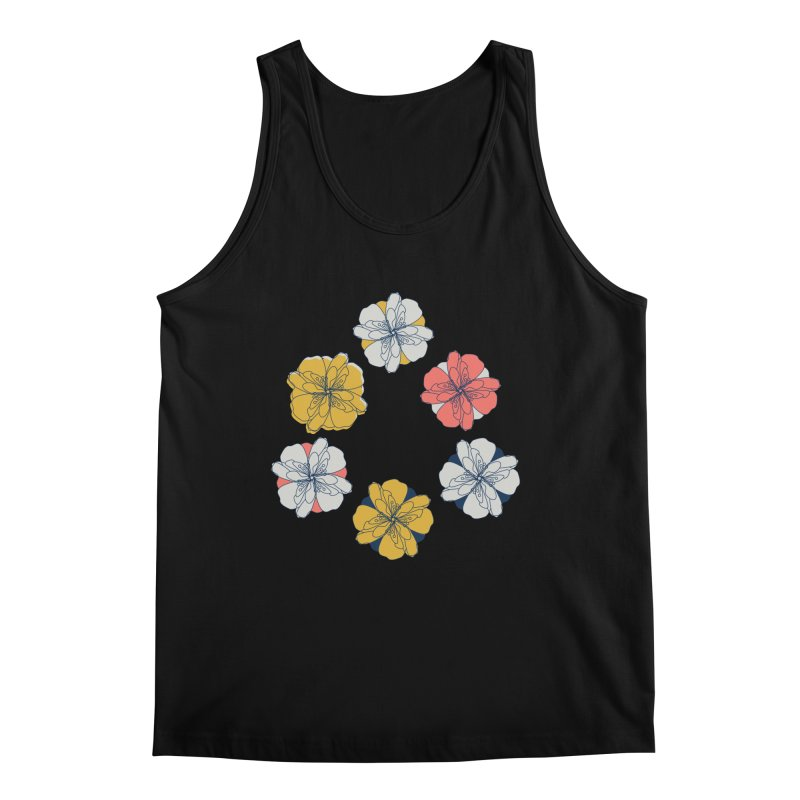 Springtime Floral Men's Regular Tank by Svaeth's Artist Shop