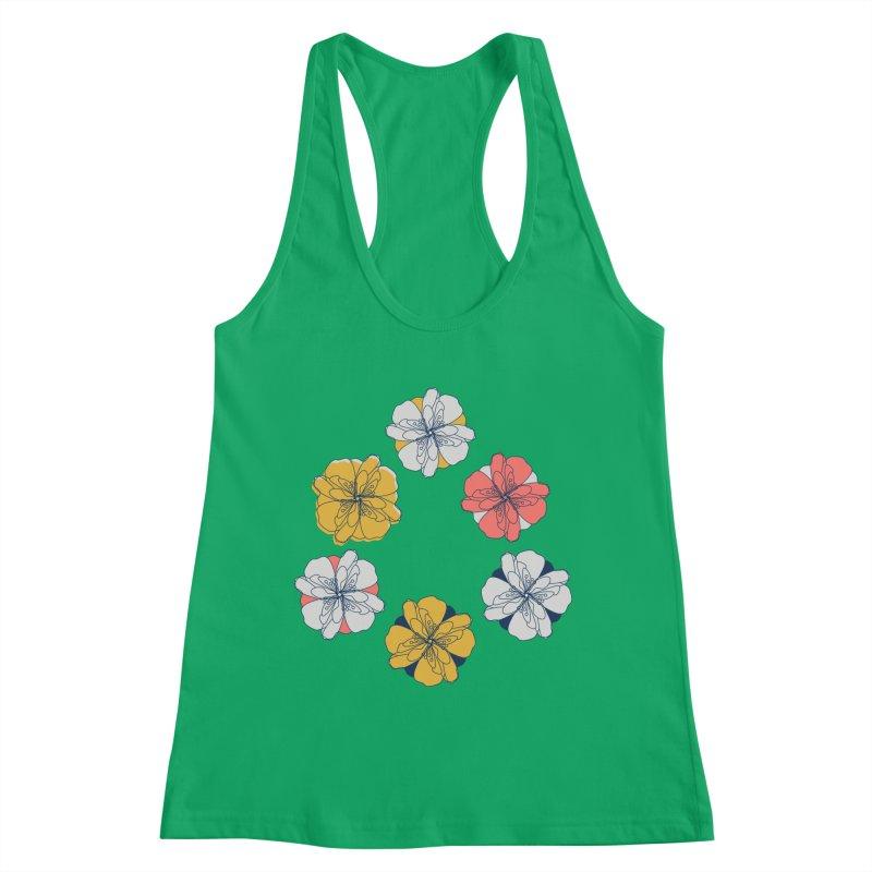 Springtime Floral Women's Tank by Svaeth's Artist Shop