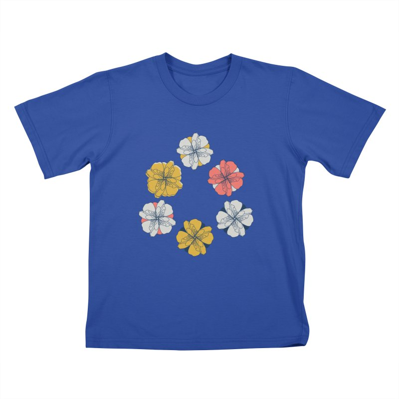 Springtime Floral Kids T-Shirt by Svaeth's Artist Shop
