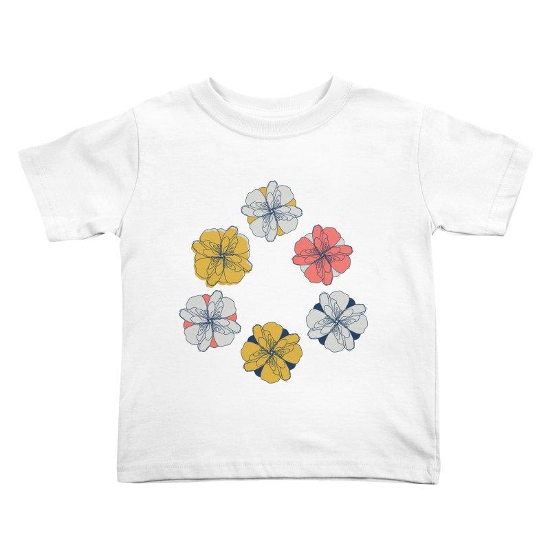Springtime Floral Kids Toddler T-Shirt by Svaeth's Artist Shop