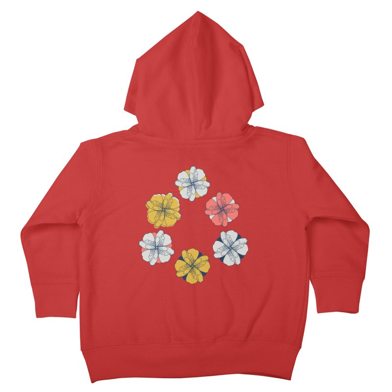 Springtime Floral Kids Toddler Zip-Up Hoody by Svaeth's Artist Shop