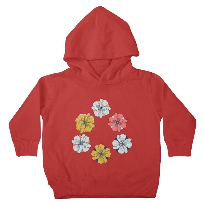 Springtime Floral Kids Toddler Pullover Hoody by Svaeth's Artist Shop