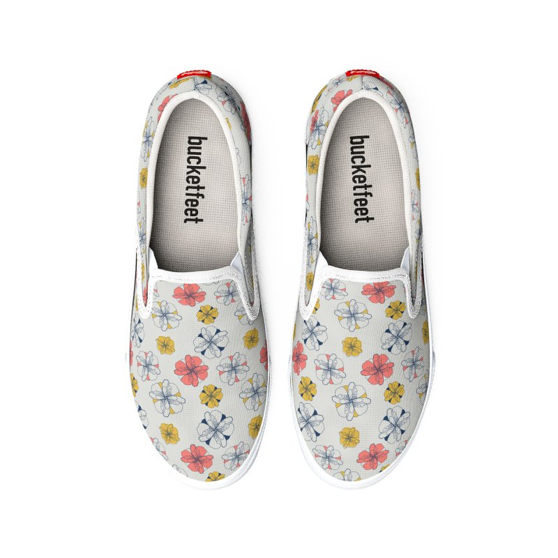 Springtime Floral Women's Shoes by Svaeth's Artist Shop