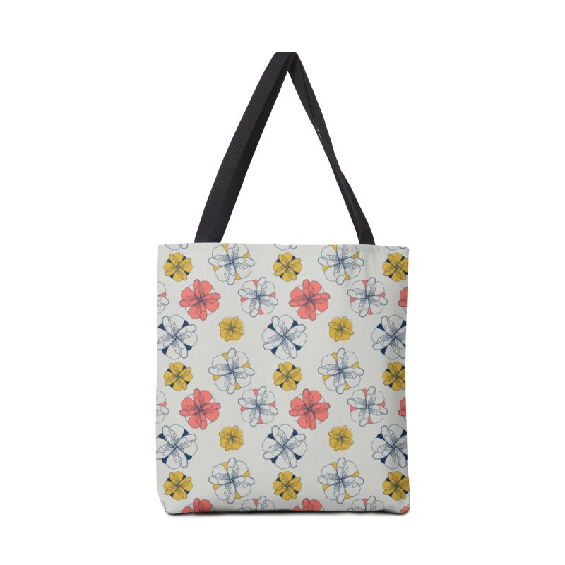 Springtime Floral Accessories Bag by Svaeth's Artist Shop
