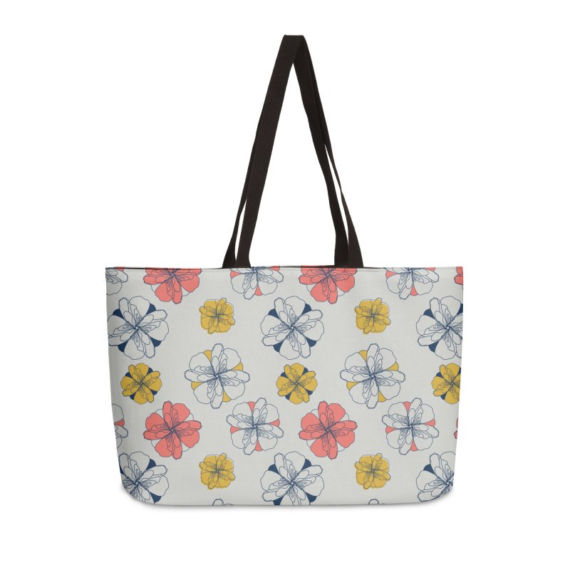 Springtime Floral Accessories Weekender Bag Bag by Svaeth's Artist Shop