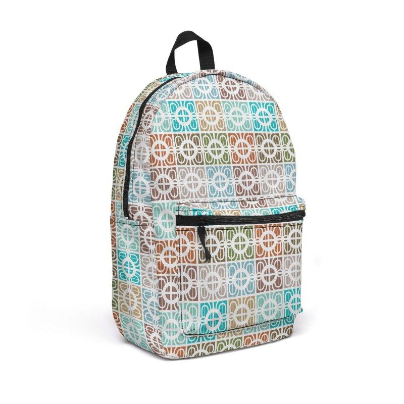 Desert Tiles Accessories Backpack Bag by Svaeth's Artist Shop