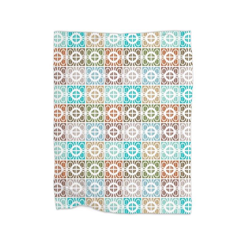 Desert Tiles Home Blanket by Svaeth's Artist Shop