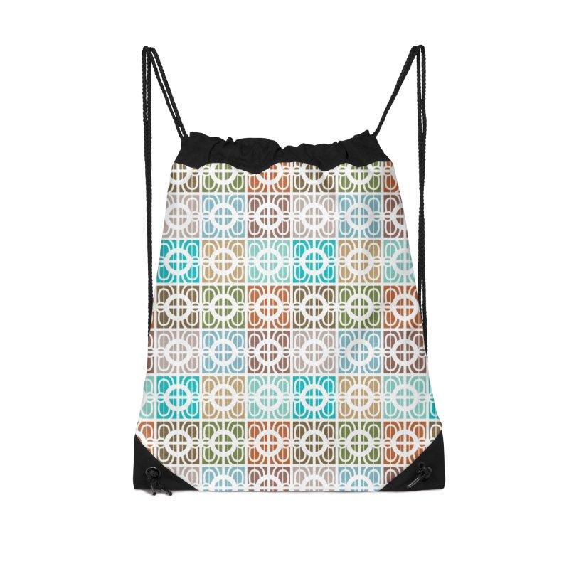 Desert Tiles Accessories Drawstring Bag Bag by Svaeth's Artist Shop