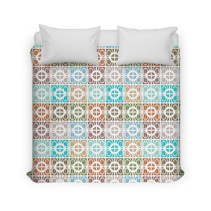 Desert Tiles Home Duvet by Svaeth's Artist Shop