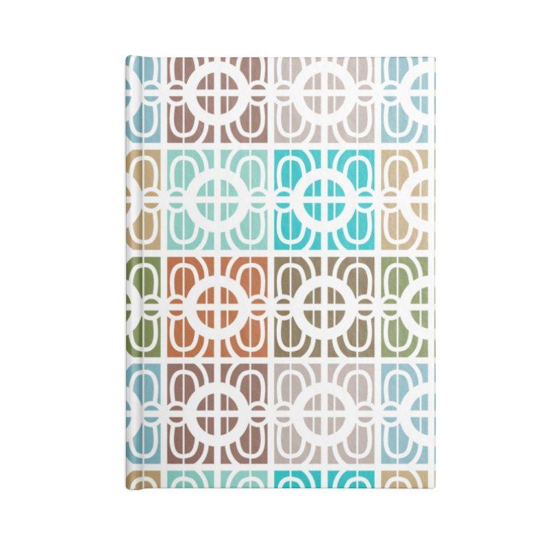 Desert Tiles Accessories Lined Journal Notebook by Svaeth's Artist Shop