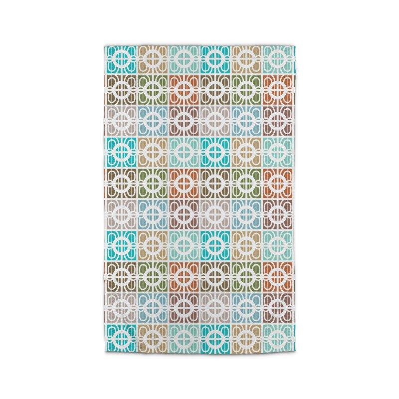 Desert Tiles Home Rug by Svaeth's Artist Shop