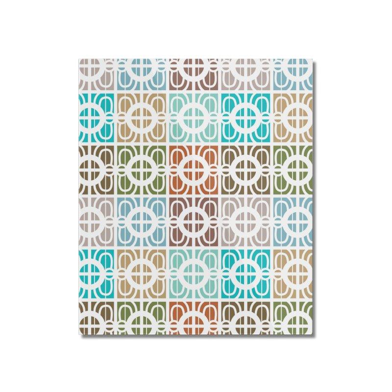 Desert Tiles Home Mounted Acrylic Print by Svaeth's Artist Shop