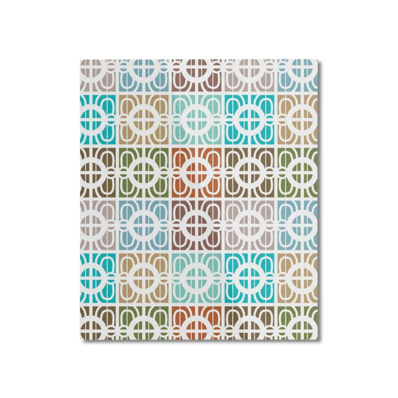 Desert Tiles Home Mounted Aluminum Print by Svaeth's Artist Shop