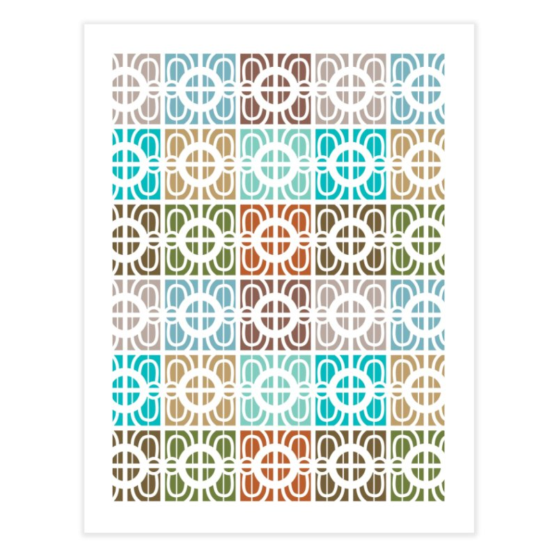 Desert Tiles Home Fine Art Print by Svaeth's Artist Shop