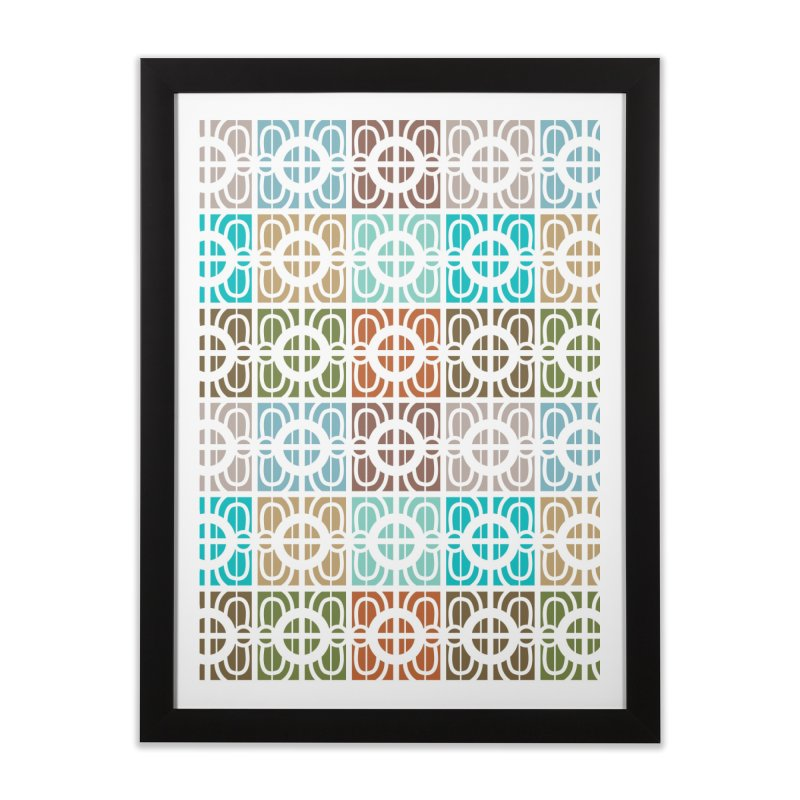 Desert Tiles Home Framed Fine Art Print by Svaeth's Artist Shop
