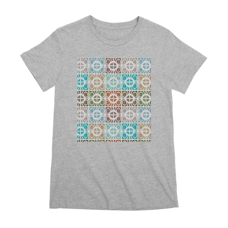 Desert Tiles Women's Premium T-Shirt by Svaeth's Artist Shop