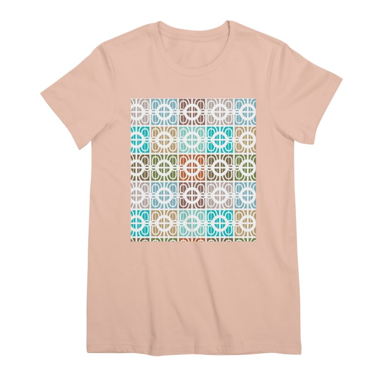 Desert Tiles Women's Premium T-Shirt by Svaeth's Artist Shop