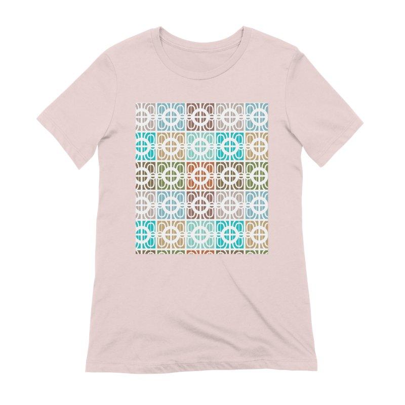 Desert Tiles Women's Extra Soft T-Shirt by Svaeth's Artist Shop