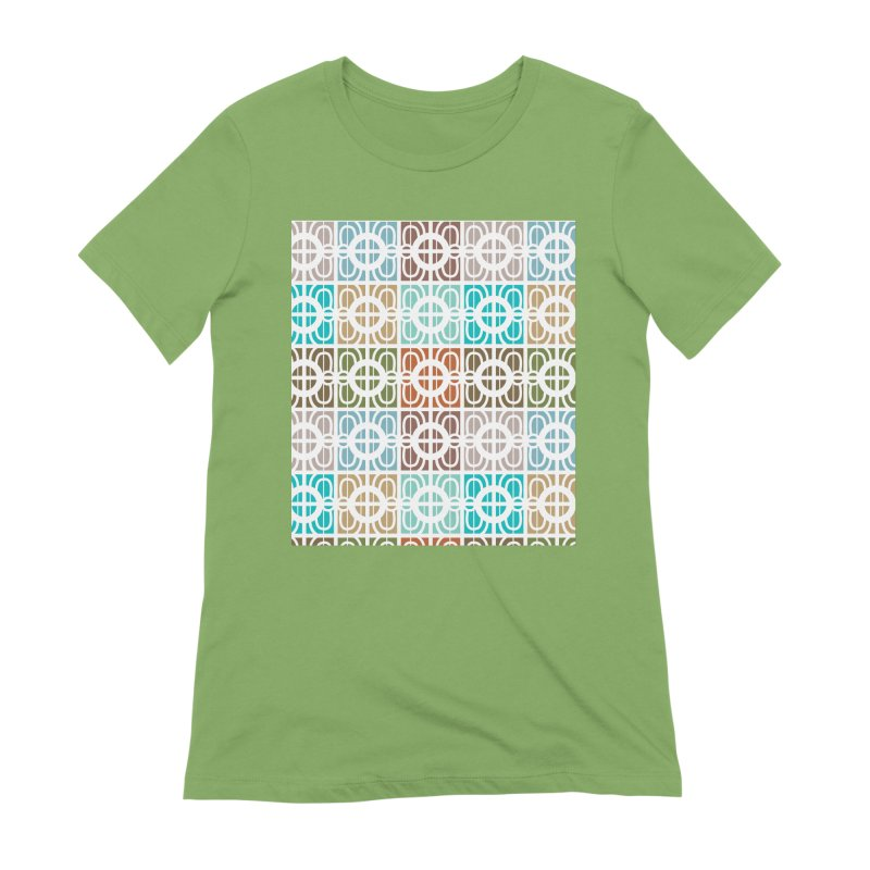 Desert Tiles Women's Extra Soft T-Shirt by Svaeth's Artist Shop