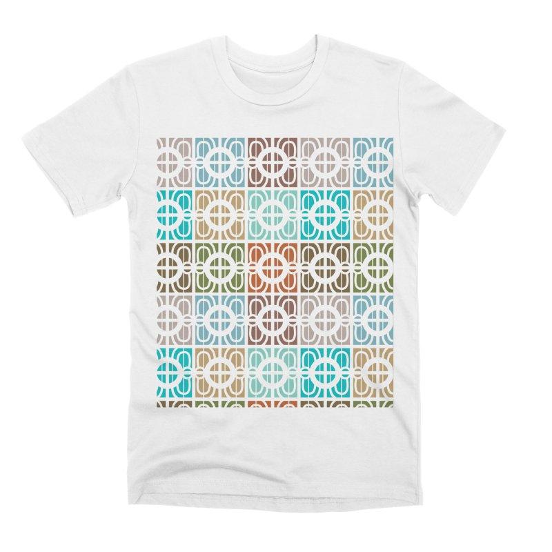 Desert Tiles Men's Premium T-Shirt by Svaeth's Artist Shop