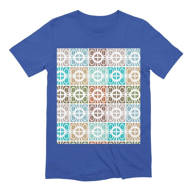 Desert Tiles Men's T-Shirt by Svaeth's Artist Shop