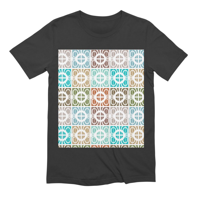 Desert Tiles Men's Extra Soft T-Shirt by Svaeth's Artist Shop