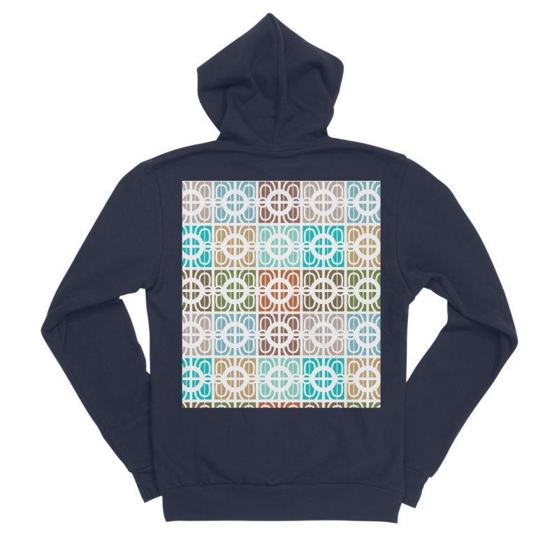 Desert Tiles Women's Sponge Fleece Zip-Up Hoody by Svaeth's Artist Shop