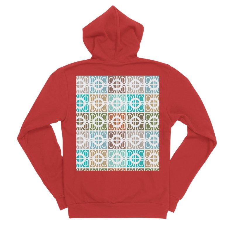 Desert Tiles Men's Zip-Up Hoody by Svaeth's Artist Shop