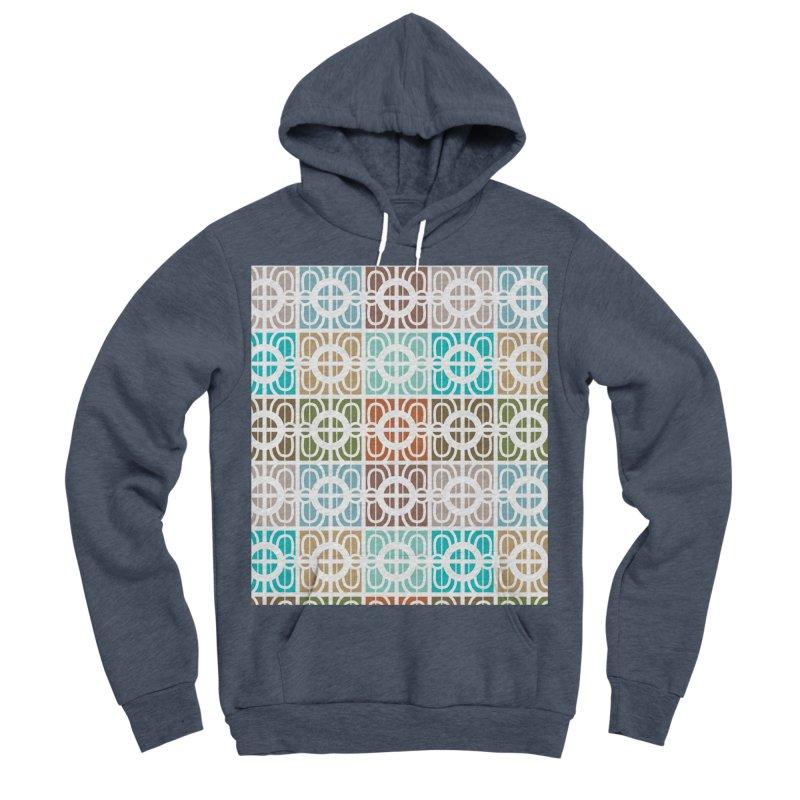 Desert Tiles Men's Sponge Fleece Pullover Hoody by Svaeth's Artist Shop