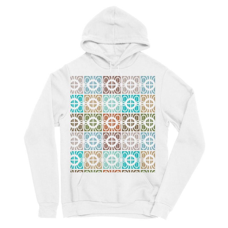 Desert Tiles Men's Sponge Fleece Pullover Hoody by Svaeth's Artist Shop