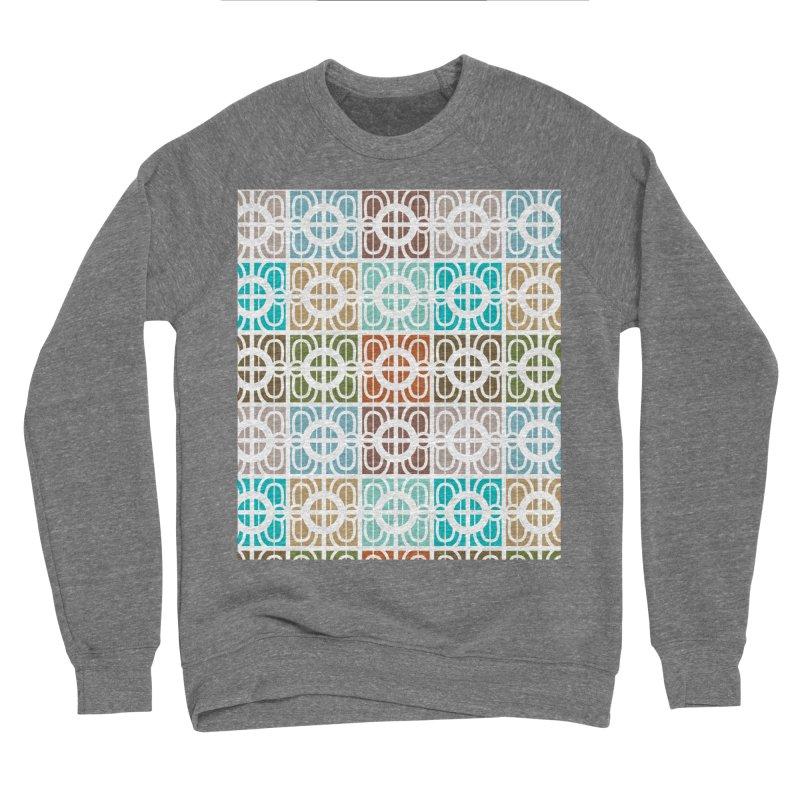 Desert Tiles Men's Sponge Fleece Sweatshirt by Svaeth's Artist Shop